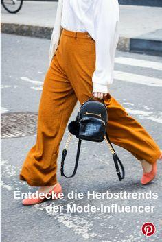 Entdecke die Herbsttrends der Mode-Influencer #fashion #inspiration #trend #fall #winter #summer #spring #pantone #frühjahr #sommer #herbst #style #outfit #ootd #filizity