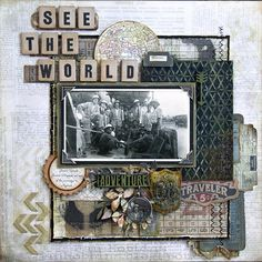 See The World - Scrapbook.com