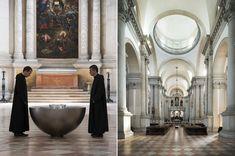 Perspectives (concave Swarovski crystal meniscus) : Basilica di San Giorgio Maggiore, Venice Biennale (2013)