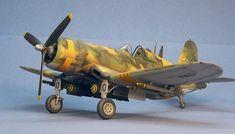 Soccer War Corsair by David W. F4u Corsair, United States Navy, Model Airplanes, Tamiya, Helicopters, Military Aircraft, Studio Ghibli, World War Ii, Scale Models
