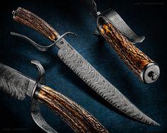 """Maker: Eduardo Berardo from Brazil Blade Length: 12 1/4"""" Overall Length: 17 1/4""""…"""