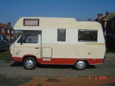 VW Karmann Gypsy Type 25 Camper van (Volkswagen, T25) 1.9Turbo Diesel 1983