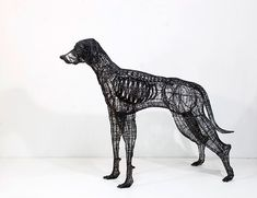 Human Size Wire Sculptures by Yong Won Song (2)