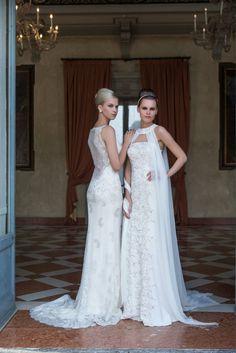 Model: Kira e Kim - Collezione Glamour di Gloria Saccucci Spose