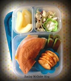 gluten and peanut free lunchbox ideas for kids    via http://www.keeleymcguire.blogspot.com/