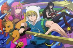 ¿Que hora es? ¡¡¡HORA DE AVENTURA!!!: Hora de aventura anime (/^ω^)/