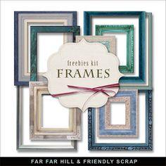 New Freebies Frames Kit