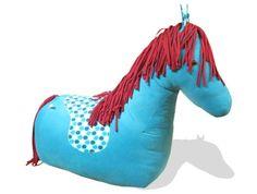 Das fertige Stoffpferd Rosinante, Reittier, Pferd, Reitpferd, Sitzsack Pferd