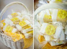 Yellow Vintage Bridal Shower Brunch