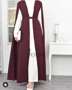 contain: people standing - Fashion hijabImage may contain: people standing - Fashion hijab Dalal AlDoub دلال الدوب ( Hijab Style Dress, Modest Fashion Hijab, Abaya Fashion, Muslim Fashion, Hijab Outfit, Fashion Dresses, Abaya Style, Asian Fashion, Hijab Fashion Inspiration