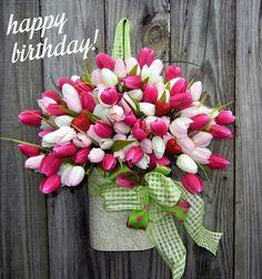 Van harte gefeliciteerd met je verjaardag. Uw BPW VRIENDINNEN Catherine Christine Marijke Katelijne Valerie en Myriam