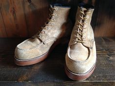 REDWING 8173 Leather sole+TR   BRASS BLOG