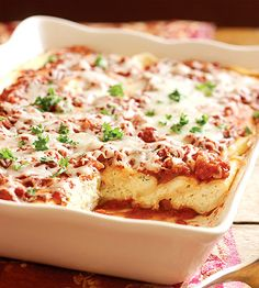 Three Cheese Manicotti (Substitute Spaghetti Sauce in place of Tomato Sauce DBS)