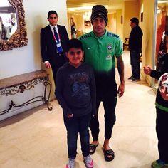 Neymar & Fan #repost #instagram @emiv11 (20.06.2015)