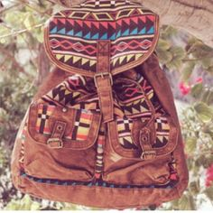 tribal packpack- if only it was big enough for school...