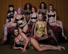 These eight women appeared in a campaign for a plus size lingerie collection celebrating diversity. Image: curvy kate By Rachel UTC LONDON — A British lingerie brand whose. Sexy Lingerie, Lingerie Models, Plus Size Bra, Plus Size Lingerie, Modelos Plus Size, Female Poses, Sensual, Ladies Day, Plus Size Women
