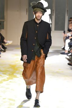Yohji Yamamoto has got to have some if the ugliest clothes I've ever seen. It's awesome.