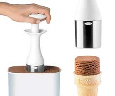 Square Ice Cream Scooper  A fun twist on regular ice cream, now you can drop square scoops of ice cream out onto an ice cream cone, plate, or get really creative with other deserts mixed in. This square ice cream scooper has a trendy design and is easy to clean up too.$14.99