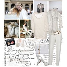 Bright Whites, created by ellie366 on Polyvore