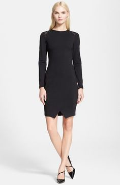 Ted+Baker+London+Lace+Back+Tulip+Hem+Body-Con+Dress+available+at+#Nordstrom