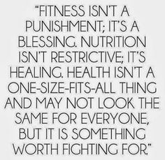 A true perspective on health & fitness