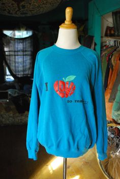 1980's super soft pullover sweatshirt by CerealVintageThrift, $16.00
