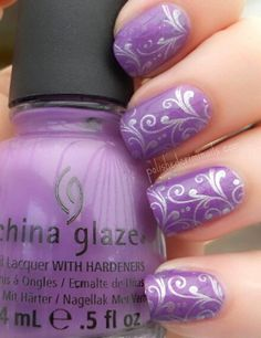 Violet China Glaze  #nails  #nail color  #nail design  #nail art  #china glaze