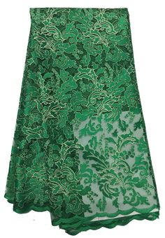 African Net Lace Floral Embroidered Nigerian French Lace XD011-5  https://www.lacekingdom.com/