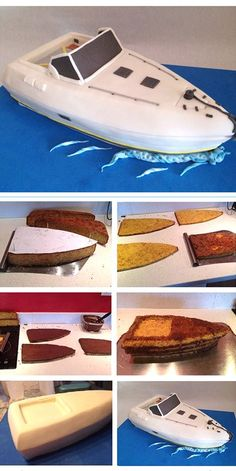 speedboat cake