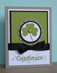 Just Julie B's Stampin' Space: Celebrate St. Patrick's Day!