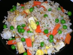Homemade-fried-rice--meatless meals.
