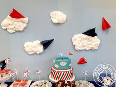 PARTY BACKDROPS: paper plane party backdrop by Love4Details Planes Party, Paper Plane, Backdrops For Parties, Party Ideas, Party, Paper Planes, Ideas Party