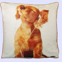 Cutest dog cushion cover ever ! http://www.sophielam.co.uk/index.php?id_product=79&controller=product