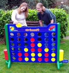 Giant Connect 4.  This would be so much fun to build.