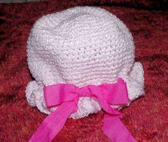 Juleeanns Ruffled Hat Crochet Pattern (child)