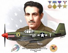 """Don"" Gentile, B, 19 victorias. Ww2 Aircraft, Fighter Aircraft, Military Aircraft, Air Fighter, Fighter Pilot, American Fighter, P51 Mustang, Ww2 Planes, Nose Art"