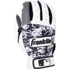 Franklin Sports Digitek Batting Gloves, Black