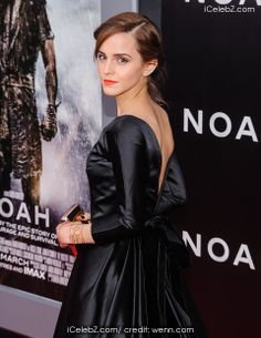 "Emma Watson ""Noah"" New York Premiere at The Ziegfeld Theater http://www.icelebz.com/events/_noah_new_york_premiere_at_the_ziegfeld_theater/photo19.html"