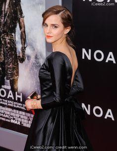 "Emma Watson ""Noah"" New York Premiere at The Ziegfeld Theater http://www.icelebz.com/events/_noah_new_york_premiere_at_the_ziegfeld_theater/photo19.html"
