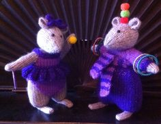 Elena & Adolfo  jugglers Beth's mouse circus 2015 made by aunty Roz