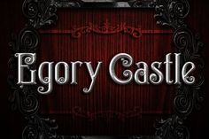 Egorycastle Typeface by seventhimperium on @creativemarket