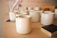 ceramics by Atelier Dion on Remodelista