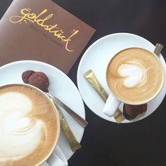 Goldstück ✨ ein total süßes kleines Café in Karlsruhe!