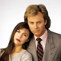 Anna Devane and Robert Scorpio, General Hospital. Forget Holly. Forget Duke. And really, really forget Luke. Anna and Robert were definitely my soap opera OTP in the 90s. Once again in denial because TPTB at General Hospital have completely screwed them up...