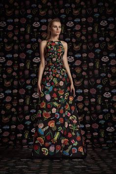 Couture Fall 2016 Trend: Florals | Rami Kadi Couture Fall 2016