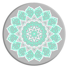 e11ca2f4382681 PopSockets  Expanding Stand and Grip for Smartphones and Tablets - Peace  Mandala Tiffany Smartphone Holder
