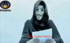 """Hacker group Anonymous have released a video condemning the Paris attacks,   saying """"freedom of expression has suffered an inhuman assault"""""""