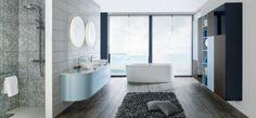 """Salle de bains Moon """"Nordic Blue"""" Schmidt"""