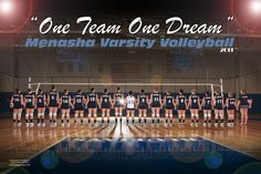 Menasha Volleyball poster