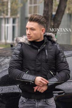 Geaca de iarna barbateasca Winter Jackets, Design, Fashion, Winter Coats, Moda, Winter Vest Outfits, Fashion Styles, Fashion Illustrations